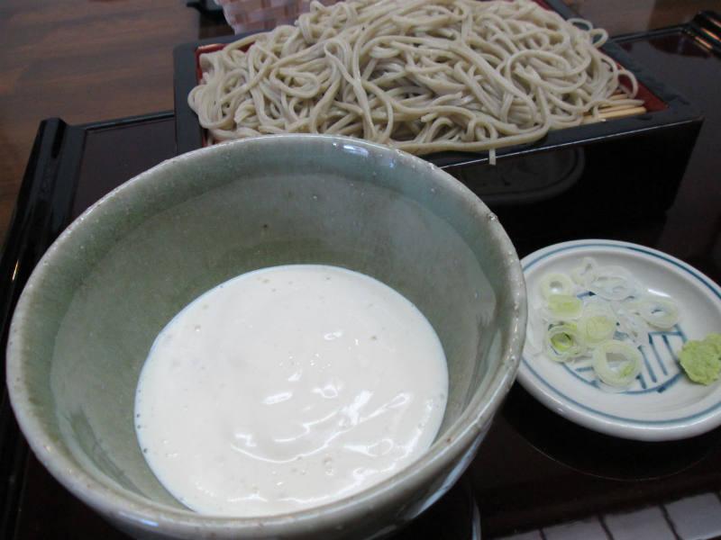 蕎麦貴石 豆腐そば