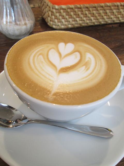 カフェイーナのカプチーノ