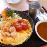 【深谷】黒んぼ食堂の絶品!エビ卵カレーとオムライスと杏仁豆腐。絶品の洋食ランチ
