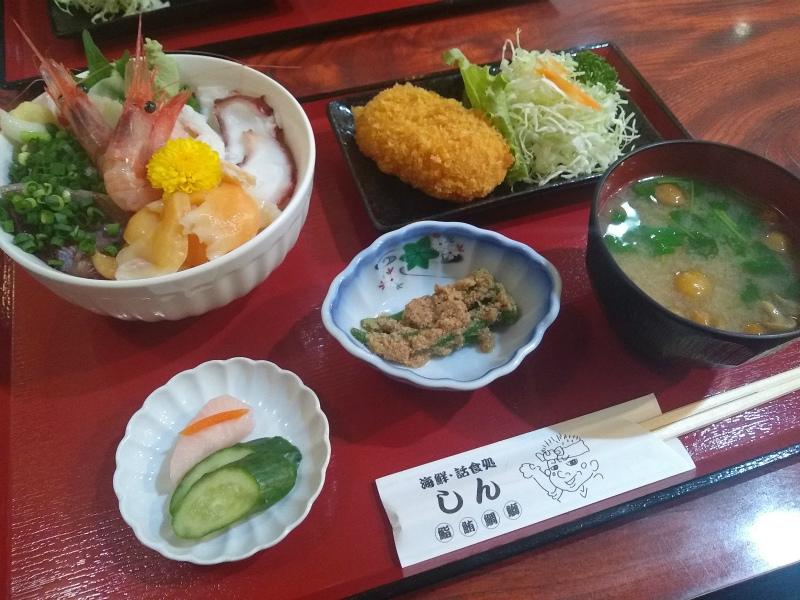【太田市|和食ランチ】魚介の新鮮度とランチのお得感に目が回る話食処しん